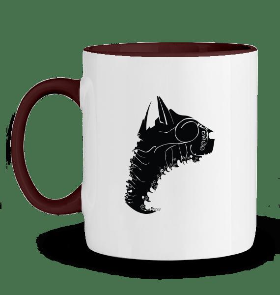dessin de chat sur mug