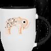 dessin éléphant sur mug