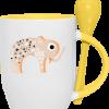 impression sur mug avec cuiller