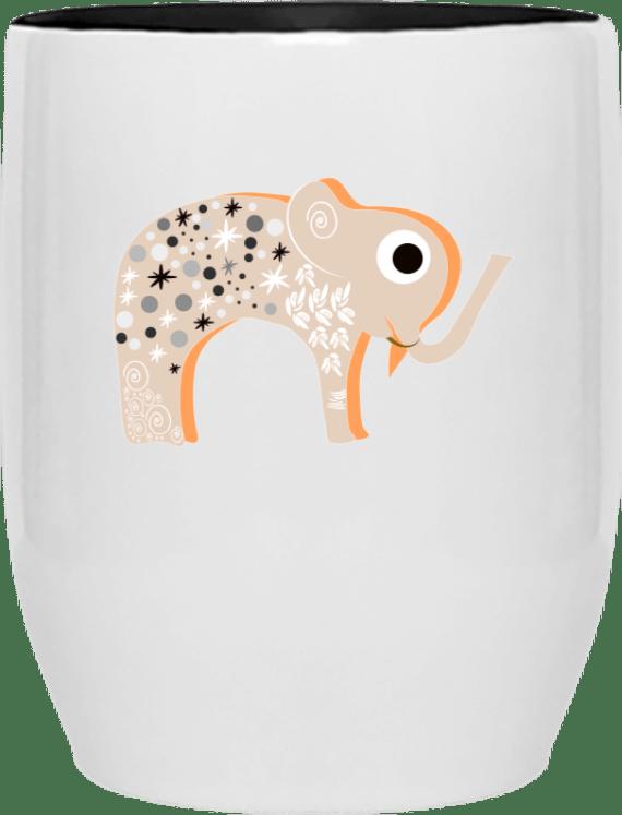 Mug à offrir avec éléphants