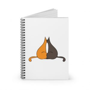 Carnet Note Book avec Motif Chat