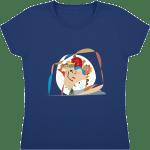 7951650-tee-shirt-fille-col-rond-manches-courtes-sofspun