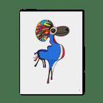 Tableau El caribou love