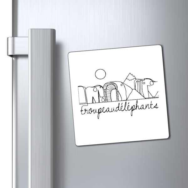 magnets frigo drôle et artistique