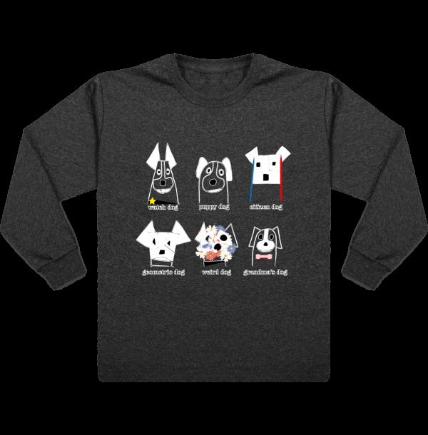 tee-shirt enfant manches longues