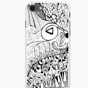 coque de telephone iphone chat